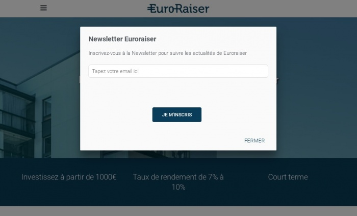 EuroRaiser screenshot
