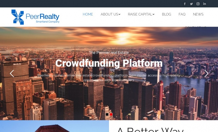 Peer Realty screenshot